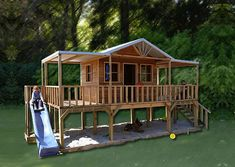 """""""The Queenslander"""" Cubby House....might need a bigger backyard for this one!"""