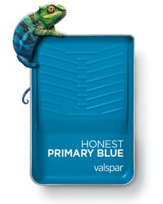 One of 12 Valspar 2019 Colors of the Year: Honest Primary Blue Available as: Wishing Well at Lowe's Amazing Sky at Ace Blue to the Bone at independent retailers Trending Paint Colors, Best Paint Colors, Interior Paint Colors, Paint Colors For Home, House Colors, Mauve Walls, Valspar Colors, House Color Palettes, Colour Pallette