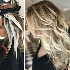 """* Rays of Light .... get the HOW-TO, Formulas & Pricing on Behindthechair.com! Search """"Rays of Light"""" for this this #BEHINDTHECHAIR EXCLUSIVE by @themisfitblonde! KIM!! Thank-you for sharing your amazing talent w/ us and our BTC members! - @marybehindthechair @kevin.givens and #BEHINDTHECHAIR"""