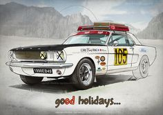 Ford Mustang 2015 holidays