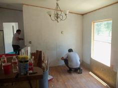 Remodeling Mobile Home Walls | Mobile Home Walls Style Makeover