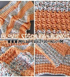 Glover Stitch Baby Blanket – Free Crochet Pattern