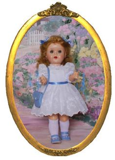 "SAUCY WALKER USA 16"" DOLL"