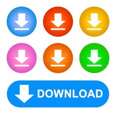 Icons download bottons web color royalty free illustration Video Editing Apps, Web Colors, Color Vector, Free Illustrations, Logos, About Me Blog, Button Frames, Apps App, Icons