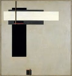 """El Lissitzky - """"The Prouns. Proun GBA 4"""", ca. 1923  http://www.pinterest.com/coherence/el-lissitzky/"""