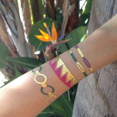 My Jewel Candy's Temporary Jewelry Tattoos - love them!