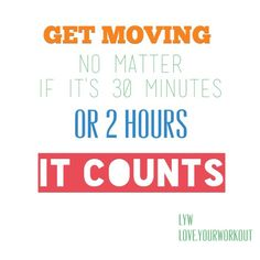 It counts! A small workout is better than no workout!