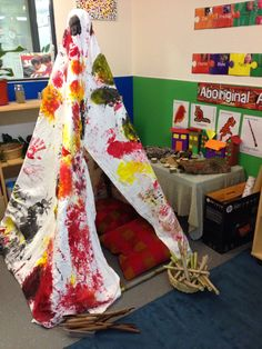 Starbright Booragoon  Toddlers room - Naidoc week