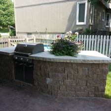 Outdoor Kitchen Omaha 6 With Images Home Landscaping Outdoor Furniture Sets Landscape