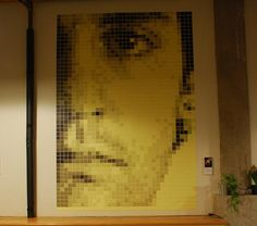 The Quick 10: 10 Works of Post-it Art | Mental Floss