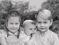Princes George, Louis and Princess Charlotte Cambridge William And Kate Kids, Prince William Family, Prince Charles And Diana, Prince George Alexander Louis, Kate Middleton Family, Kate Middleton Prince William, Lady Diana, King And Queen Pictures, George Of Cambridge