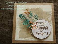 handmade by Julia Quinn - Independent Stampin' Up! Demonstrator: Stampin' Up! Flourishes in the Love Chapter #84 CTC