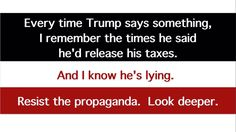 Trump lies. ALL THE TIME.