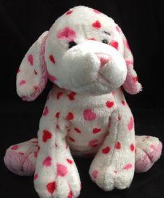 Webkinz Love Puppy HM131 Valentine Plush Stuffed Animal Ganz No Code Retired