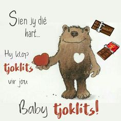 Afrikaans, Love You More, My Love, Good Morning Wishes, Cute Quotes, Funny Babies, Marriage, Hearts, Valentines
