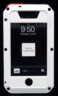 New Iphone Lunatik Taktik Protective Case Black/white/red New Iphone, Iphone Cases, Black White Red, Protective Cases, Gadgets, Ipad, Cool Stuff, Glass, Candies