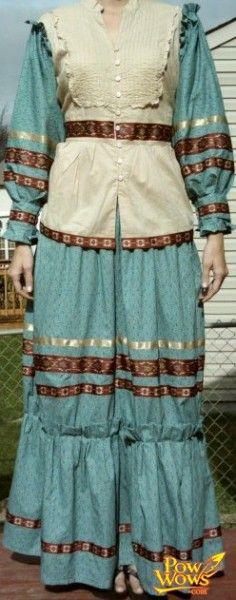Traditional Cherokee Tear Dresses