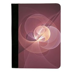 Movement Abstract and Modern Fractal Art Padfolio