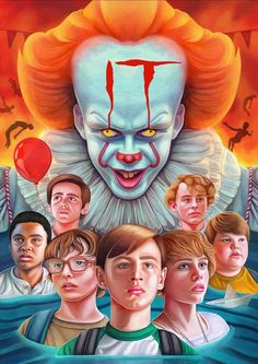 It fan made movie poster horror movie posters, horror films, iconic movie p Penny Wise Clown, Arte Horror, Horror Art, Real Horror, Horror Drawing, Creepy Horror, Horror Movie Posters, Horror Movies, It Movie 2017 Cast