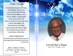 Free Funeral Program Template Microsoft Word Passed Free - Free printable funeral prayer card template
