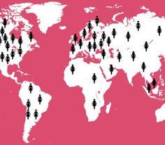 Woman In The Map: Aplicativo anuncia locais onde uma mulher fez história