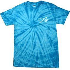 KIDS Jake Paul Spider Turquoise Tie-Dye Shirt