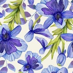 Papel de Parede Floral 1618