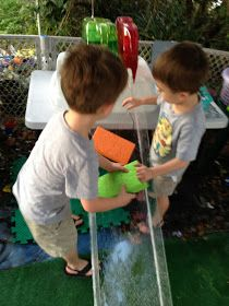 DIY See-through Water Ramp