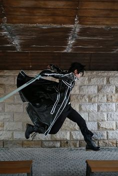 Kirito is the main protagonist of the Sword Art Online light novel series. The Kirito cosplay is loved by many people.