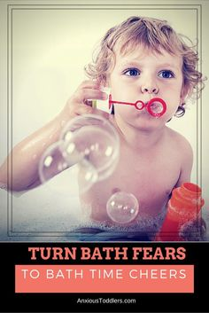 Do you have bath time fights? Does your kid have bath time fears? Turn bath fears into bath cheers! Some great, easy tips from a child therapist over at AnxiousToddlers.com
