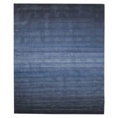 Hand Tufted Wool Blue Horizon Rug - Overstock™ Shopping - Great Deals on EORC Runner Rugs