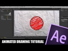 After Effects Tutorial: Animated Drawing - YouTube