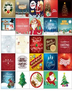 Free Printable-Christmas Stickers Galore For Your Happy Planner