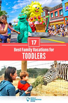 Want ideas for a family vacation that includes toddlers? We're FamilyDestinationsGuide, and we're here to help: Discover the best family vacations for toddlers - so you get memories that last a lifetime! #toddlers #toddlersvacation #familyvacation #vacationswithkids #vacationswithtoddlers Best Vacations With Toddlers, Best Family Vacations, Family Vacation Destinations, Vacation Spots, Family Travel, Vacation Ideas, Travel Destinations, Toddler Vacation, Toddler Travel
