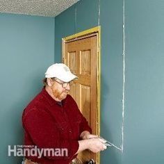 Drywall Repair:  How to Fix Cracks--Do it right, so the crack never comes back again