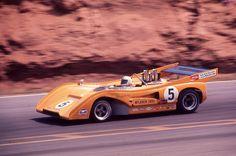 Denny Hulme McLaren M8F Road Atlanta 1971