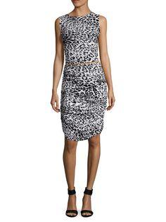 Teaser Printed Dress by Norma Kamali at Gilt