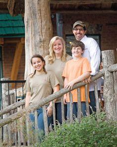 Chef Danny Mellman, Michelle Moran and family, Harvest on Main, Blue Ridge, Ga.