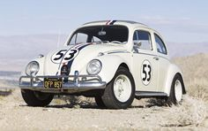 "1963 Volkswagen Beetle Sunroof Sedan  ""Herbie the Love Bug"" / One of the Original Disney Film Cars / Formerly the Property of Disney Studios and Harrah's Automobile Collection"