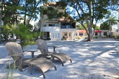 A View Of The Beach Steps Away From Sunset House Treasure Island Fl Pinterest And