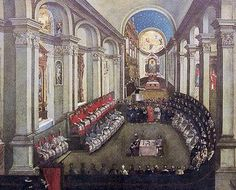 Image from http://upload.wikimedia.org/wikipedia/commons/c/ca/Council_of_Trent.JPG.