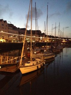 Guernsey Harbour - where I live :)