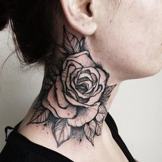 Tattoos and only tattoos — skindeeptales: Misa Bocek // love the sketchy style of this flower, minus the background shading.