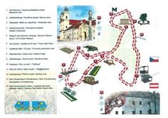 A bare-foot trail - Valtice Three Oaks, Museum, Map, Fungi, Maps, Peta, Museums