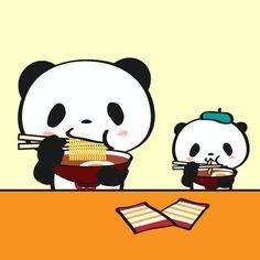 即席ラーメン記念日 LINEスタンプで大人気!毎日更新「今日のお買いものパンダ」を見逃すな!今まで明かされなかったお買いものパンダの生態も少しだけ公開!
