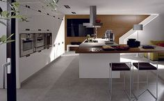 Pronorm are the ideal solution for larger kitchens. They have a wider range of unit sizes and designs than any other German kitchen.