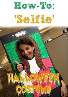 This is amazing! Genius Last-Minute Halloween Costume Idea: How to Be a 'Selfie' (VIDEO) | The Stir http://thestir.cafemom.com/home_garden/162744/genius_lastminute_halloween_costume_idea?utm_medium=sm&utm_source=pinterest&utm_content=thestir