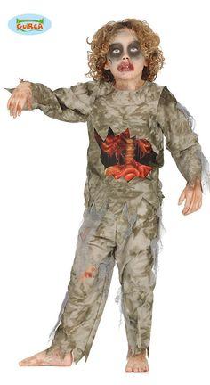 Zombie Krankenschwester Mädchen Kostüm Kinderkostüm Halloween blutig Gr 110-146