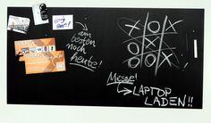 Große Pinnwand/Pinwand/Magnet-Tafel in 100 x 50 cm, mit 1x Kreide und 20 Stift - Magneten: Magnetpinnwand mit Tafelkreide-Oberfläche: Amazon.de: Bürobedarf & Schreibwaren