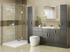 Thanks for you visiting Fitted Bathroom Furniture Raya Furniture HD Wallpape. Eco Bathroom, Budget Bathroom, Modern Bathroom, Bathroom Ideas, Bathroom Designs, Bathroom Goals, Family Bathroom, Washroom, Beautiful Bathrooms
